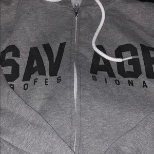 savage professionals Tops - Savage zip up hoodie